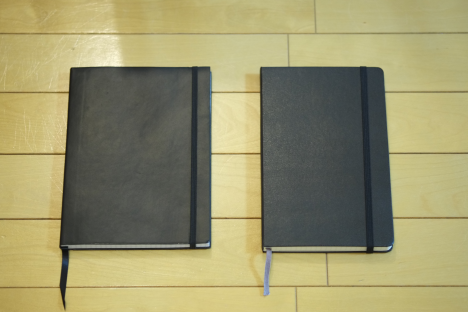 MOLESKINEとEASY FIND NOTEBOOKを買ってみました。